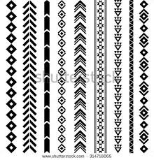 navajo designs. Delighful Designs Navajo Geometric Tattoo Designs  Tribal Geometric Pattern Aztec And  Ornament Tattoo Inside A