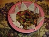 big fat greek eggplant  aubergine   salad