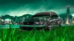 toyota altezza jdm tuning crystal nature car