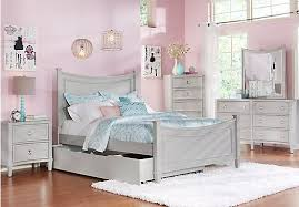 Jaclyn Place Gray full bed, dresser, mirror rooms to go kids $900 ...