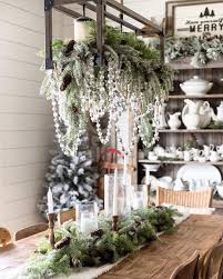 Gorgeous winter and Christmas decor @threesonsfarmhouse #christmas ...
