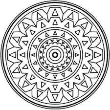 Small Picture Medallion Mandala Mosaic Coloring Page Medallion Mandala Mosaic