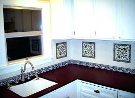 decorative tiles for kitchen walls wall tile inserts bronze medallion ideas s decorative tiles for kitchen walls