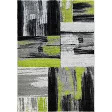 la dole copper abstract carpet 5 2 x 7 3 rectangle area rug green black grey rugs carpets best canada