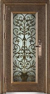 steel glass doors. Steel Doors Wronght Iron Door With Glass Image