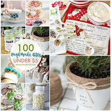 over 100 handmade gifts that are perfect for gifts birthday presentother s