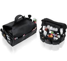 touch up smock and bag this belt bag bo lets professional makeup artists move around