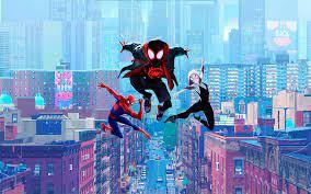 Spider-Verse Wallpaper 4K ...