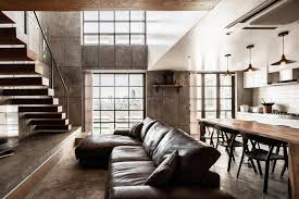 Two story apartment Story Loft Contemporary Chefs Two Story Apartment Renovation By Fattstudio Caandesign Contemporary Chefs Two Story Apartment Renovation By Fattstudio