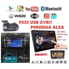 Perodua Alza <b>10</b> INCH <b>IPS 2.5D</b> full HD <b>screen</b> Android Player With ...