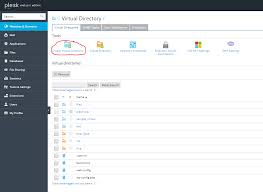 Create A Directory How To Manage Virtual Directories In Plesk Hostadvice