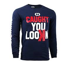 Sleeve - Navy Long And Your large-customized Caught Look'in Jersey Blue You Softball Name Number Personalize T-shirt With Gimmedat