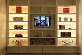 small lamps for bookshelves best home design 2018 living room bookcase lighting22 bookcase