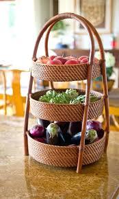 kitchen countertop fruit storage 3 tier fruit basket great for vegetables too great idea design