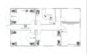 design office floor plan. Equipment Layout, Window, Casement, Wall, Telephone, Phone, Router, Room Design Office Floor Plan B