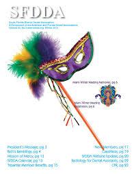 SFDDA Newsletter Winter Edition by South Florida District Dental  Association - issuu