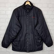 Tommy Hilfiger Black Vintage Retro Sports Coat
