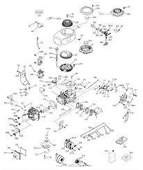 Tecumseh ohv130 206820b parts diagram for engine parts list 1