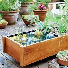 diy pond box diy water feature diy