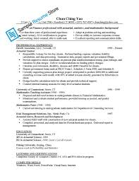Resume Examples 10 Best Of Actuary Resume Template Actuary