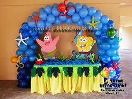 Party Decorations Miami Spongebob