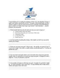goal setting planner 1 fort4fitness