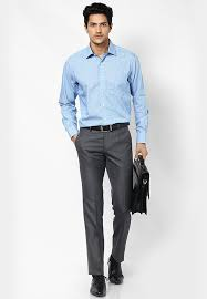 Shirts With Pants Mens Guide To Perfect Pant Shirt Combination Blue Shirt