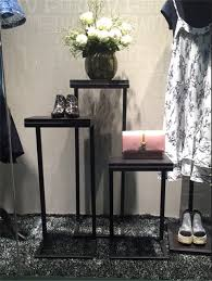 Window Display Stands 100 Pcs A Set White Clothing Store Decoration Stands Shop Window 87