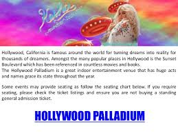 Hollywood Palladium 323 962 7600
