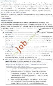 How To Make A Resume For Summer Job Free Resume Example And