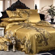 furniture stylish luxury duvet covers with revival vintage flower bedding set noble king tencel fiber