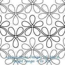 Digital Quilting Design Flower Child by Apricot Moon. | Quilting ... & Digital Quilting Design Flower Child by Apricot Moon. Adamdwight.com
