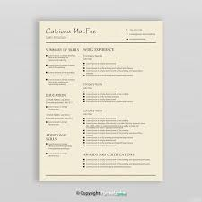 Creative Resume Titles Good 15 Best Modern Resume Templates Images