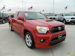 Barcelona Red Metallic 2012 Toyota Tacoma X-Runner Exterior Photo ...