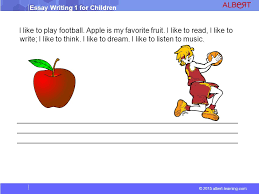 essay writing for children ppt video online apple is my favorite fruit