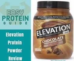 elevation protein powder review in 5