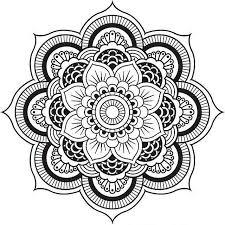 Easy Mandala Coloring Pages Beautiful 1 075 Free Printable Mandala