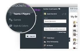 Brackets Ninja Create Brackets Tournaments And Manage
