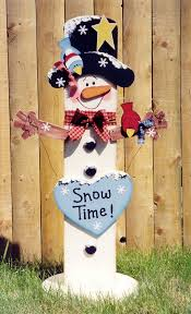 welcome winter with this 28 wood snowman and his two feathered frosty friends he is made from 1 pine and 1 4 birch easy to make and paint