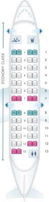 Seat Map American Airlines Crj 200 Seatmaestro
