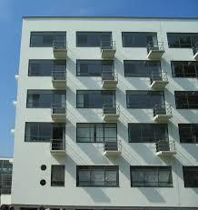 File Bauhaus Dessau Wohnheim Balkone Jpg Wikimedia Commons
