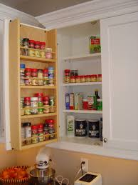 Kitchen Spice Rack Kitchen Kitchen Cabinet Spice Rack With Wonderful Pull Out Spice