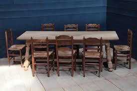 Vintage Oak Dining Table Vintage Oak Bleached Farm Table Dining Tables Tables