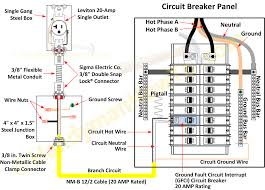 three phase electrical wiring installation at home 3 phase Electric Breaker Panel Box Wiring ground fault circuit breaker and electrical outlet wiring Wiring 30 Amp Breaker Box