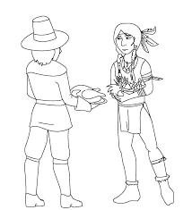 Pilgrims Coloring Page Pilgrim Girl Coloring Page Camelliacottageinfo