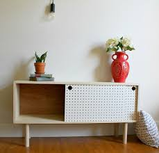 modern furniture diy. This Mid Century Modern DIY Pegboard Cabinet Is The Work Of Shara Over At \u0027Woodshop Diaries\u0027. Her Tutorial Very Easy To Follow, I Really Believe Anyone Furniture Diy