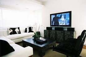 black white living room. Black And White Living Room I