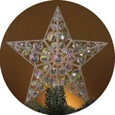 10Christmas Tree Lighted Star