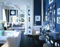 decoration navy blue living room walls beautiful interiors for spring bedroom pictures