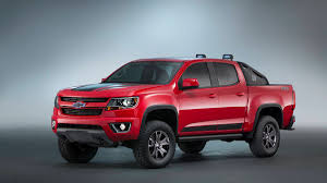 Chevrolet Colorado Z71 Trail Boss SEMA Show 2015 concept